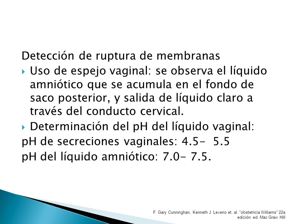 Detección de ruptura de membranas