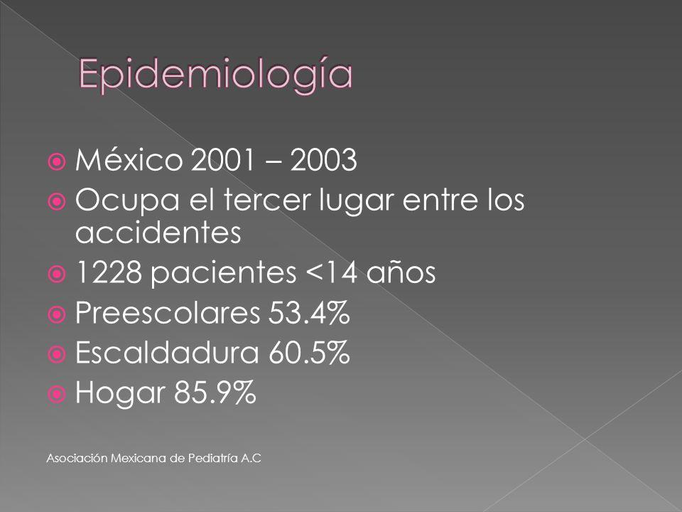 Epidemiología México 2001 – 2003