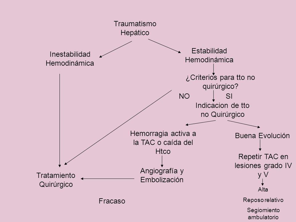 Estabilidad Hemodinámica Inestabilidad Hemodinámica