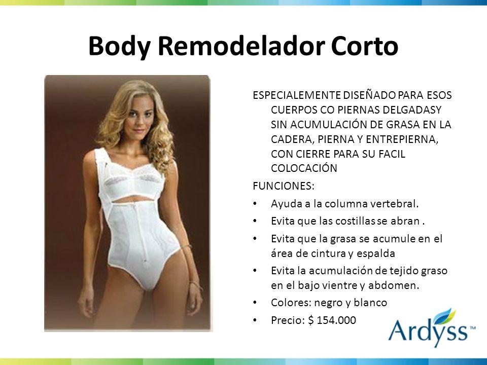 Body Remodelador Corto