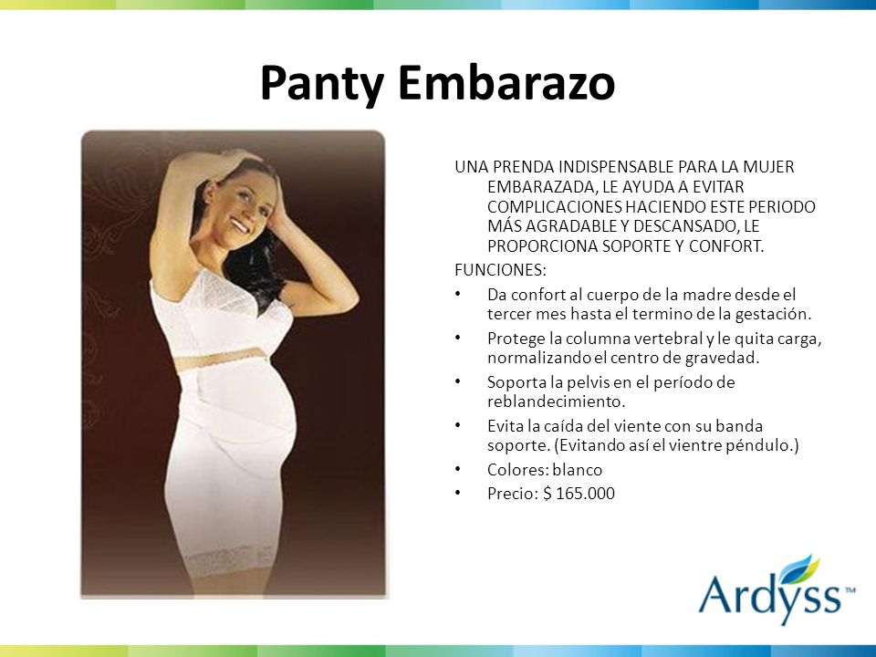 Panty Embarazo