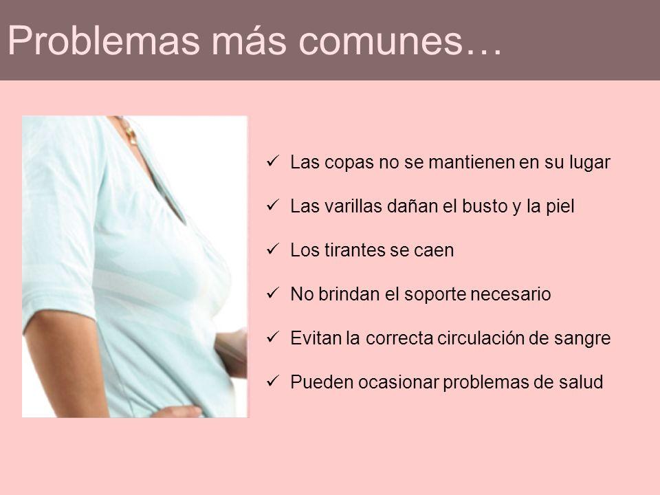 Problemas más comunes…