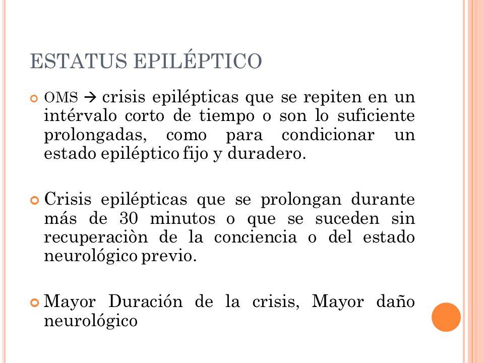 ESTATUS EPILÉPTICO