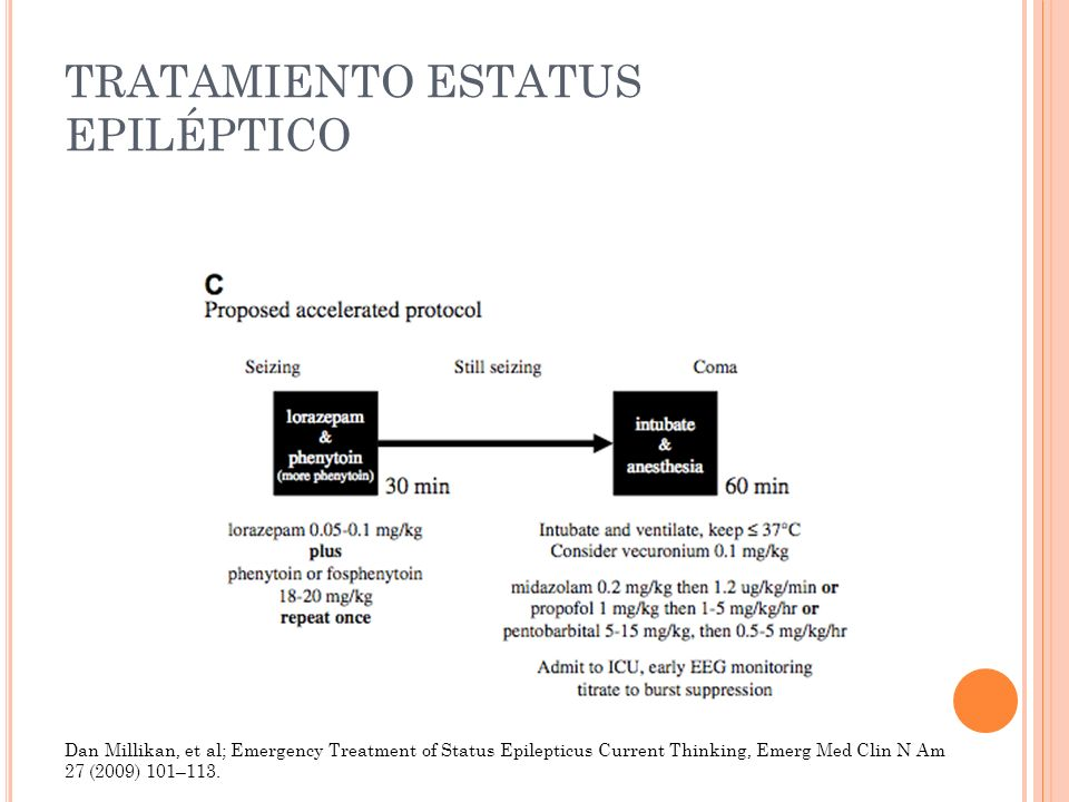 TRATAMIENTO ESTATUS EPILÉPTICO