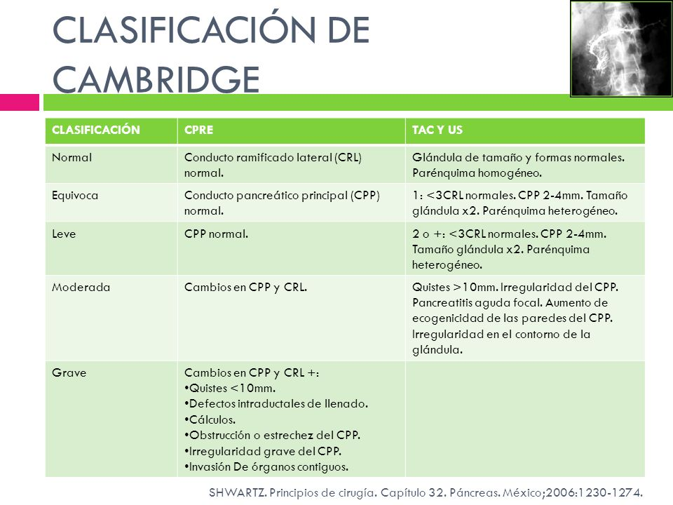 CLASIFICACIÓN DE CAMBRIDGE