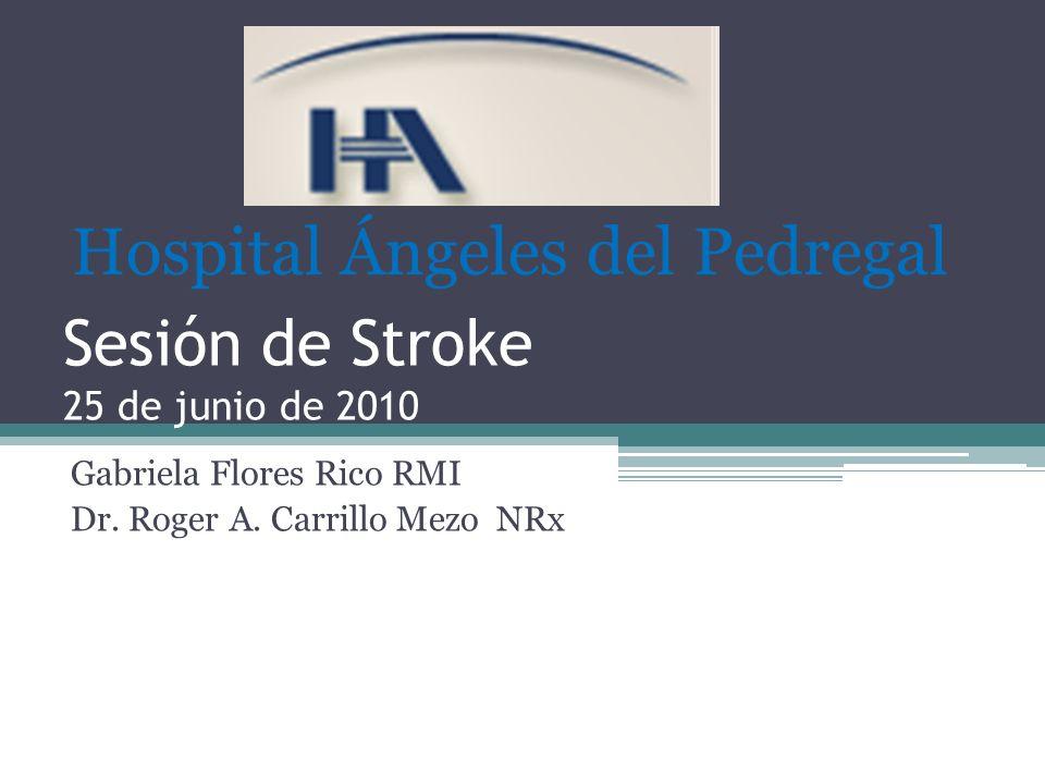 Sesión de Stroke 25 de junio de 2010