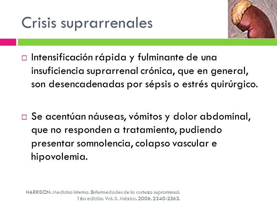 Crisis suprarrenales