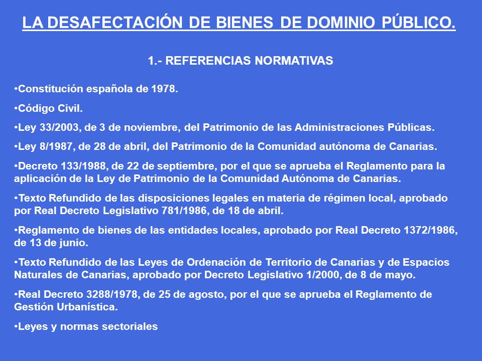1.- REFERENCIAS NORMATIVAS