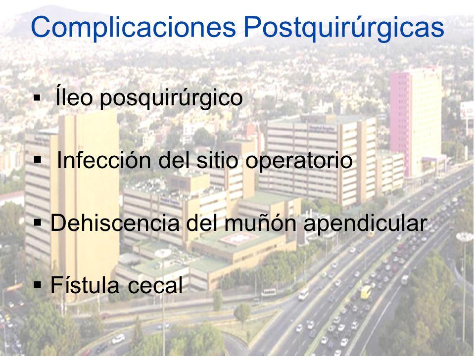 Complicaciones Postquirúrgicas