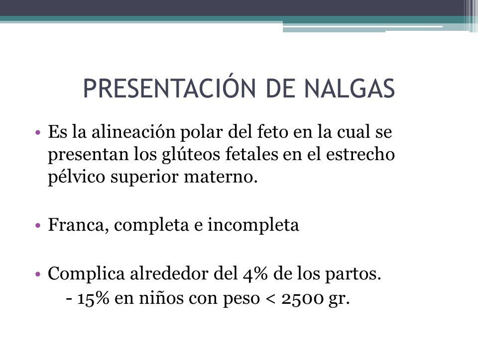 PRESENTACIÓN DE NALGAS