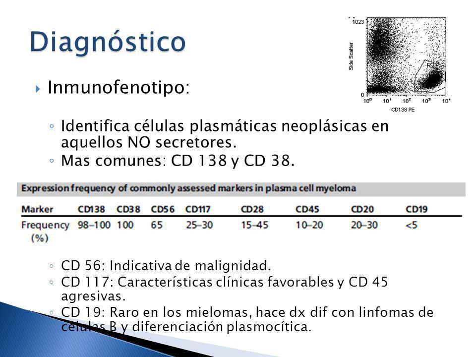 Diagnóstico Inmunofenotipo: