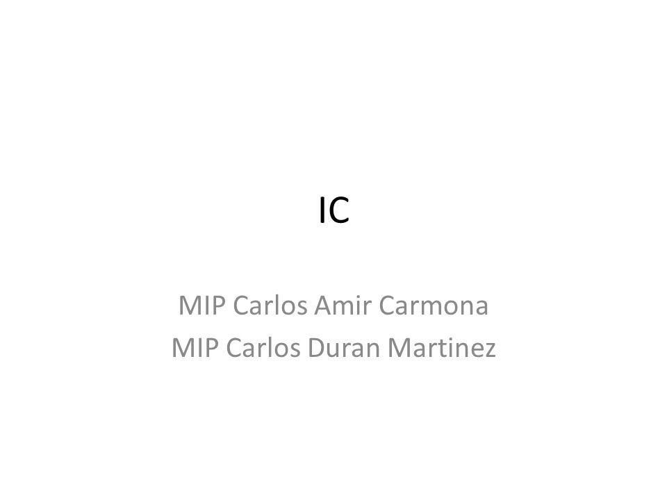 MIP Carlos Amir Carmona MIP Carlos Duran Martinez