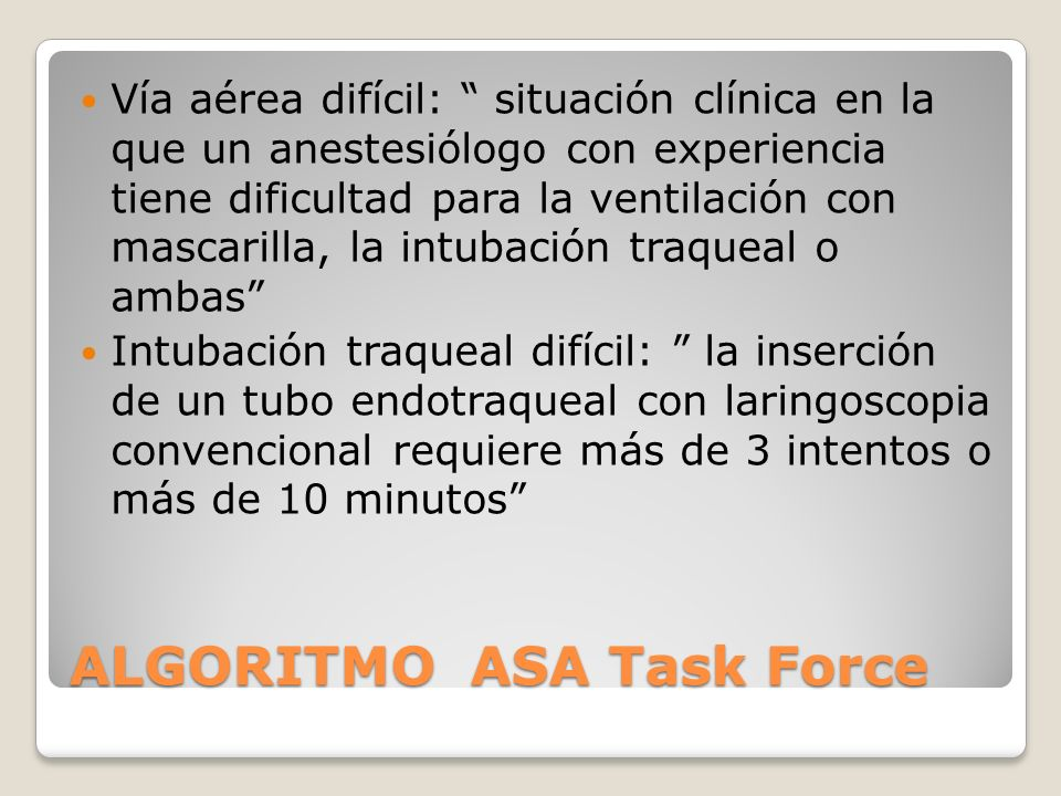 ALGORITMO ASA Task Force