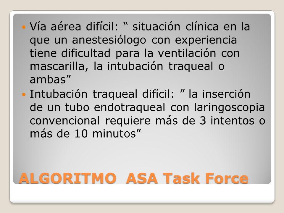 ALGORITMO ASA Task Force