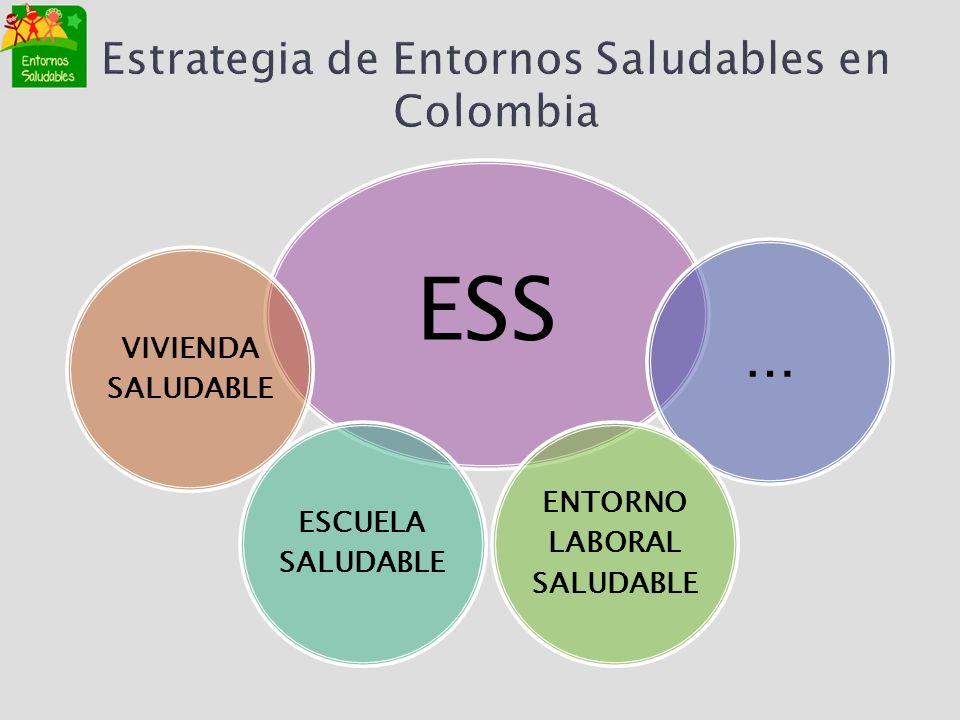 Estrategia de Entornos Saludables en Colombia
