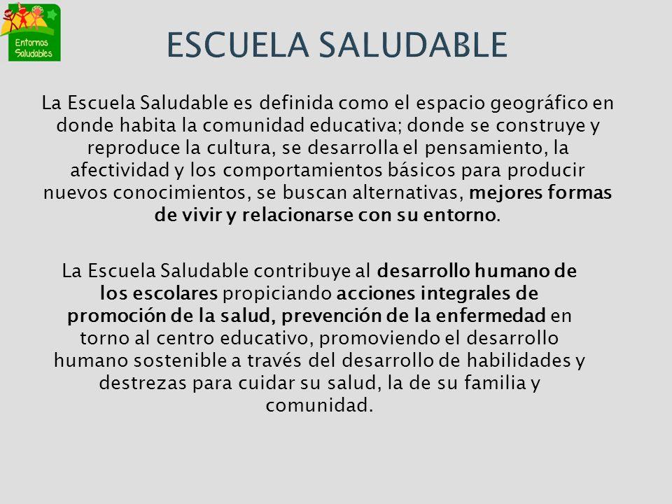 ESCUELA SALUDABLE