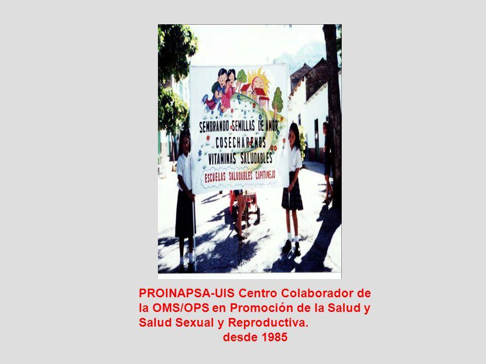 PROINAPSA-UIS Centro Colaborador de
