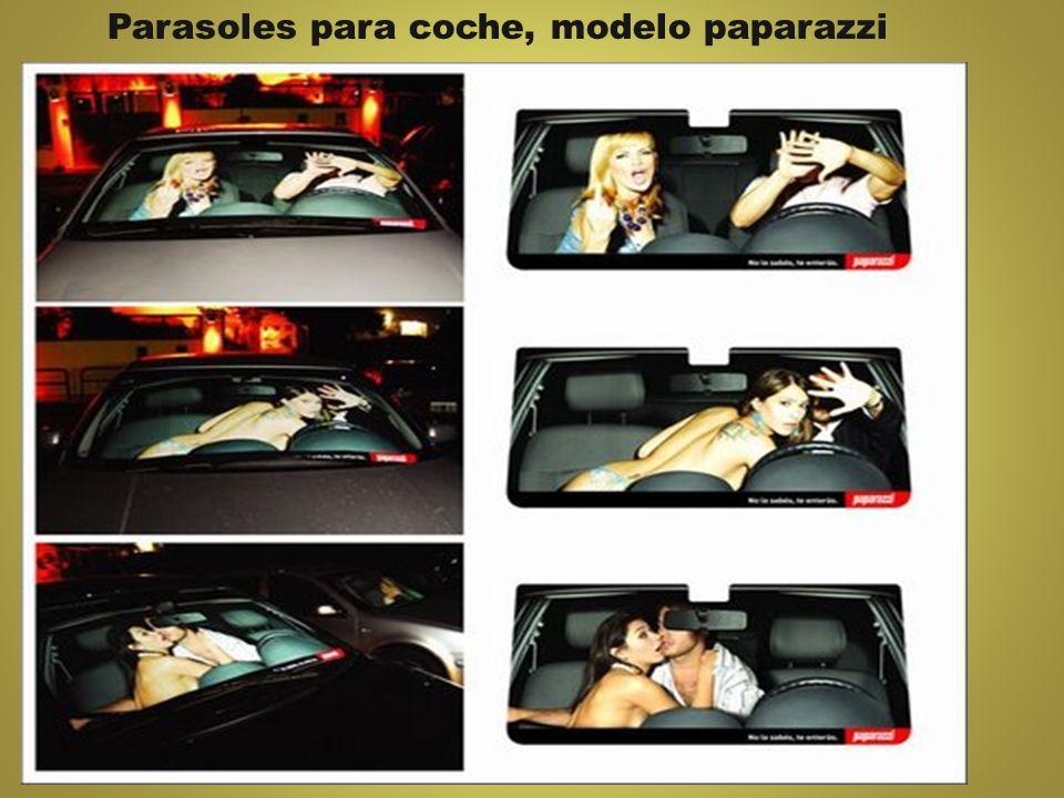 Parasoles para coche, modelo paparazzi