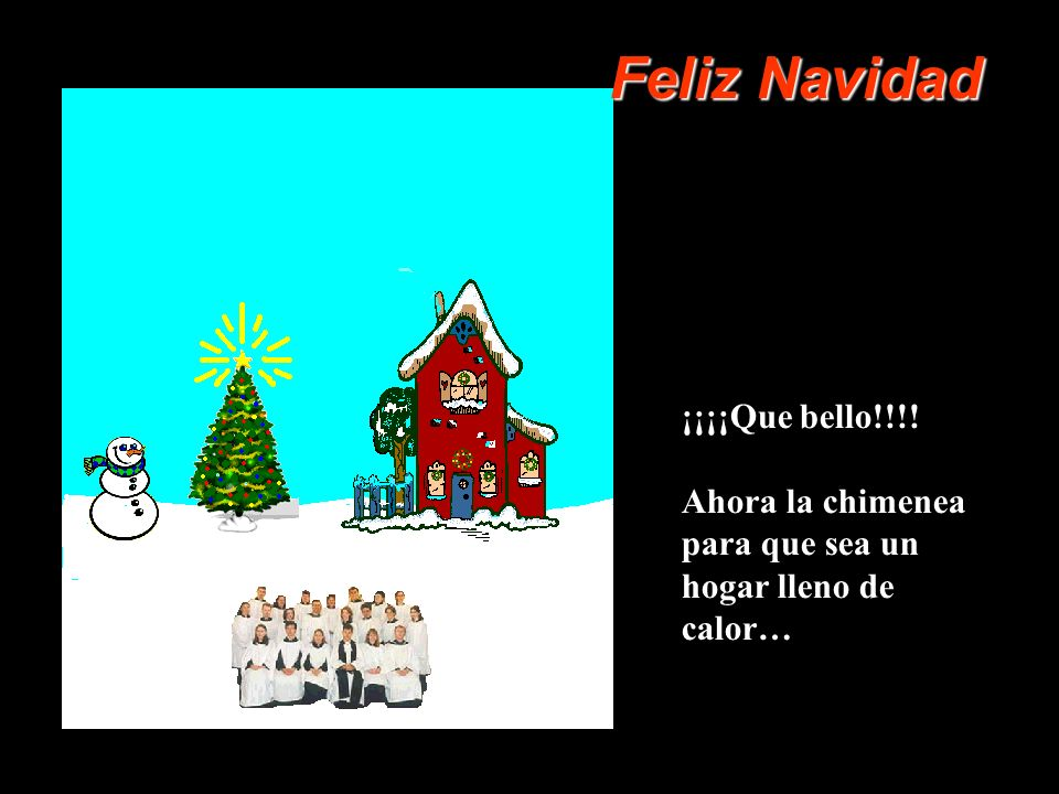 Feliz Navidad ¡¡¡¡Que bello!!!!