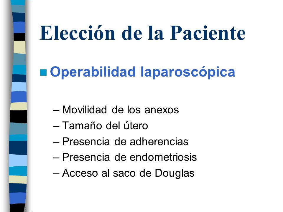 Elección de la Paciente