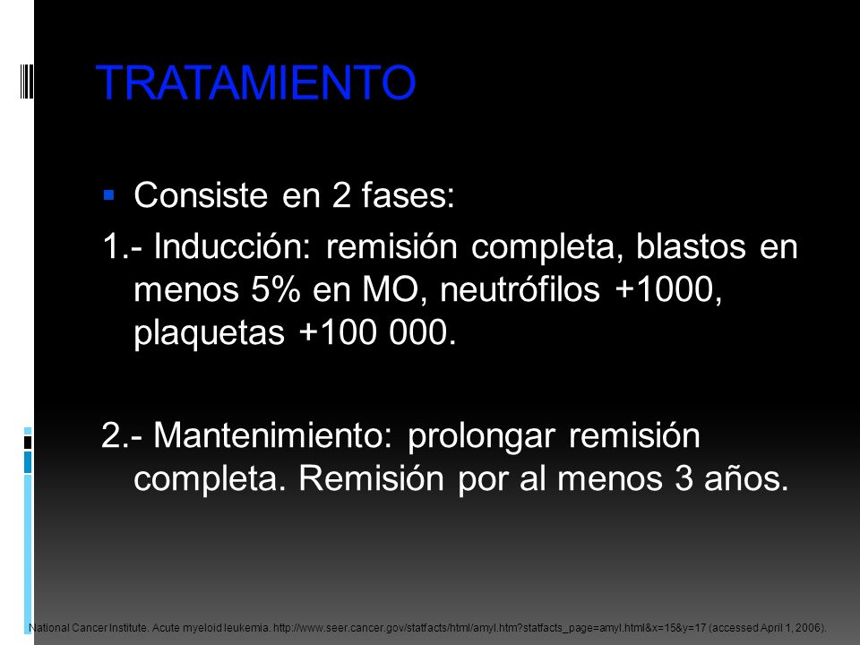 TRATAMIENTO Consiste en 2 fases: