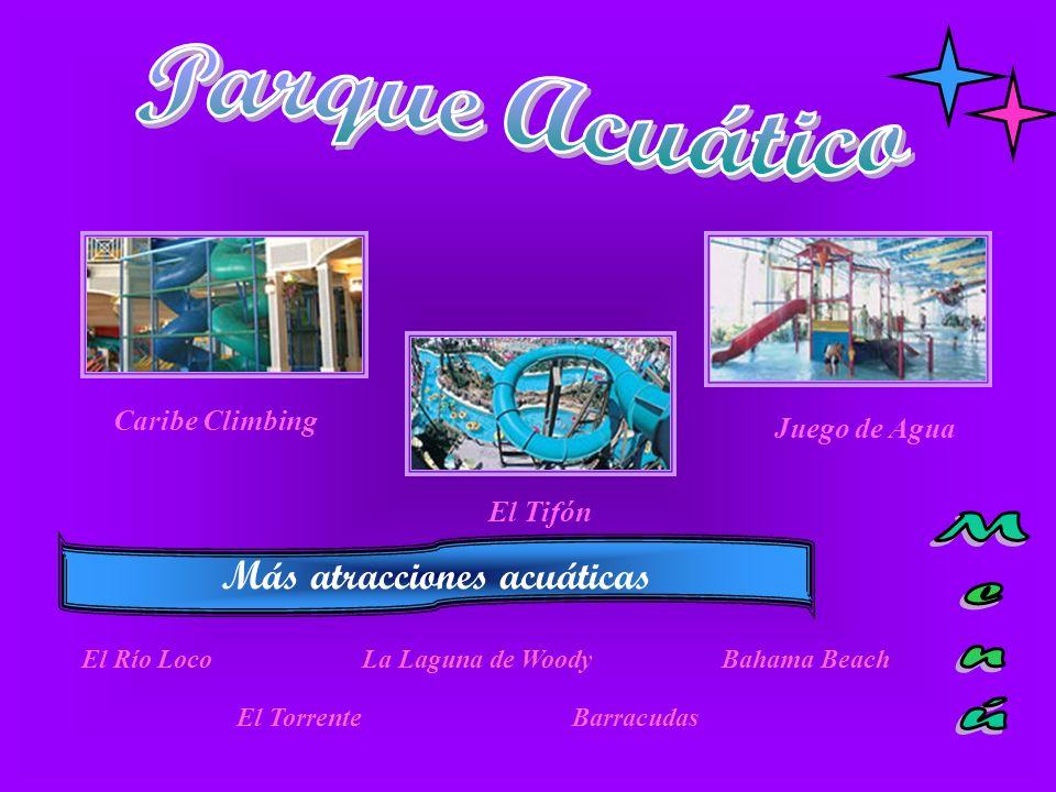 Más atracciones acuáticas
