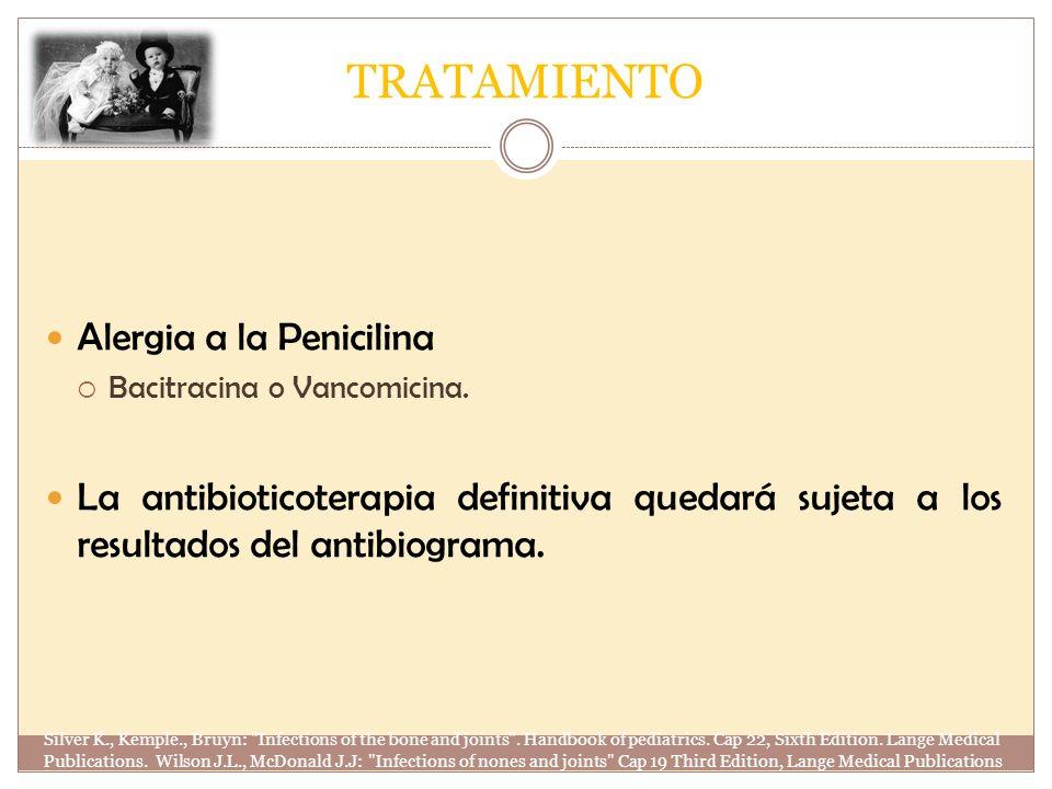 TRATAMIENTO Alergia a la Penicilina