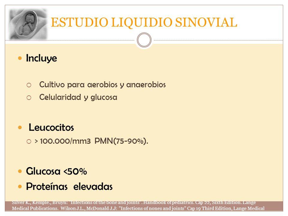 ESTUDIO LIQUIDIO SINOVIAL