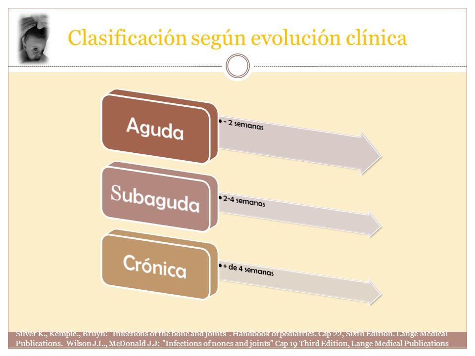 Clasificación según evolución clínica