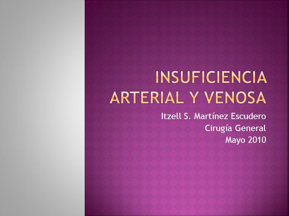 Insuficiencia Arterial y venosa