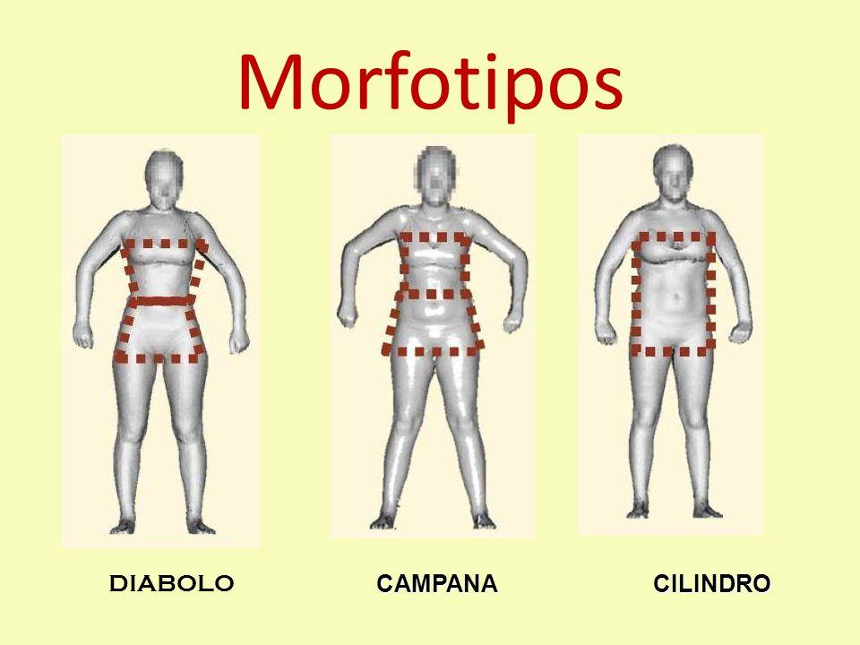 Morfotipos DIABOLO CAMPANA CILINDRO