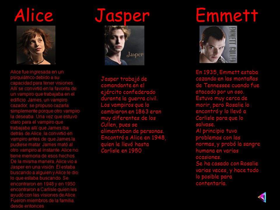 Alice Jasper Emmett
