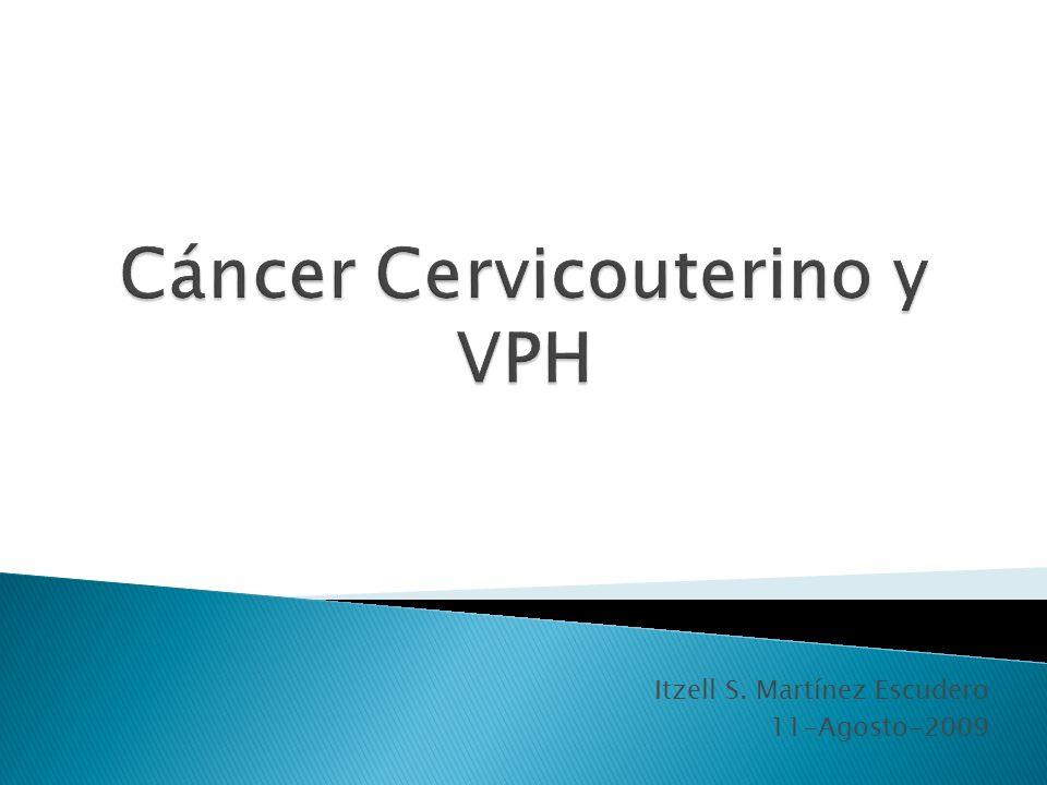 Cáncer Cervicouterino y VPH