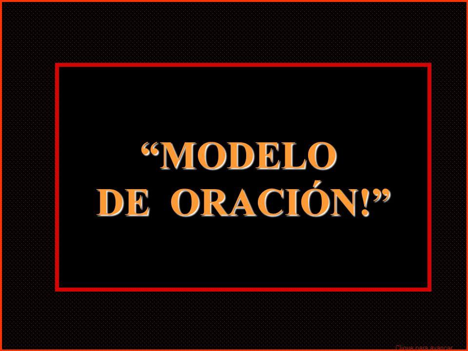 MODELO DE ORACIÓN! Clique para avançar