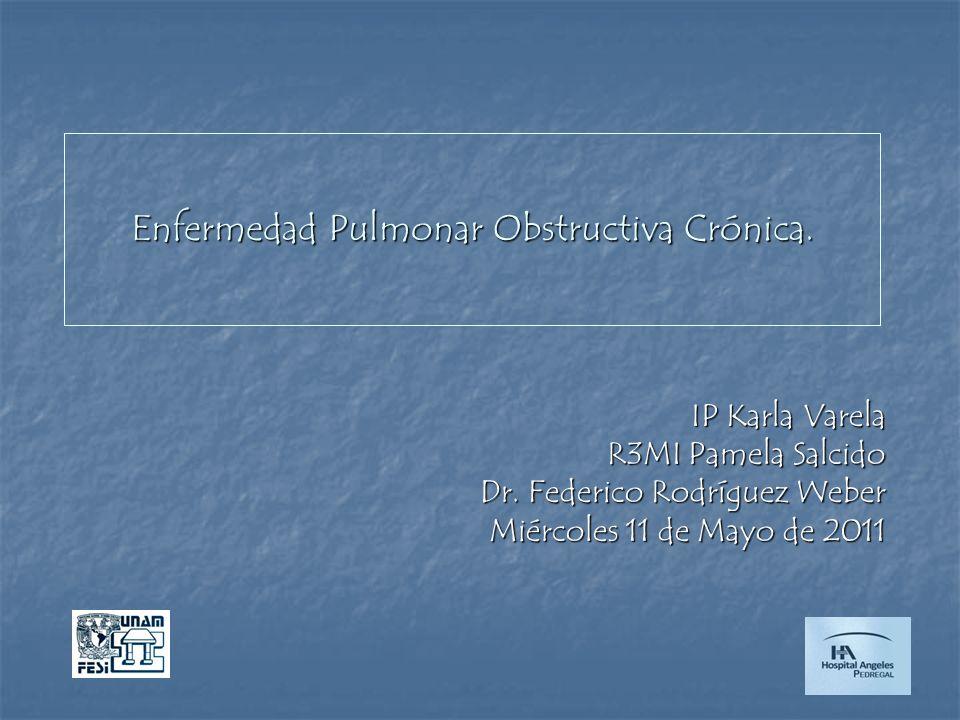 Enfermedad Pulmonar Obstructiva Crónica.