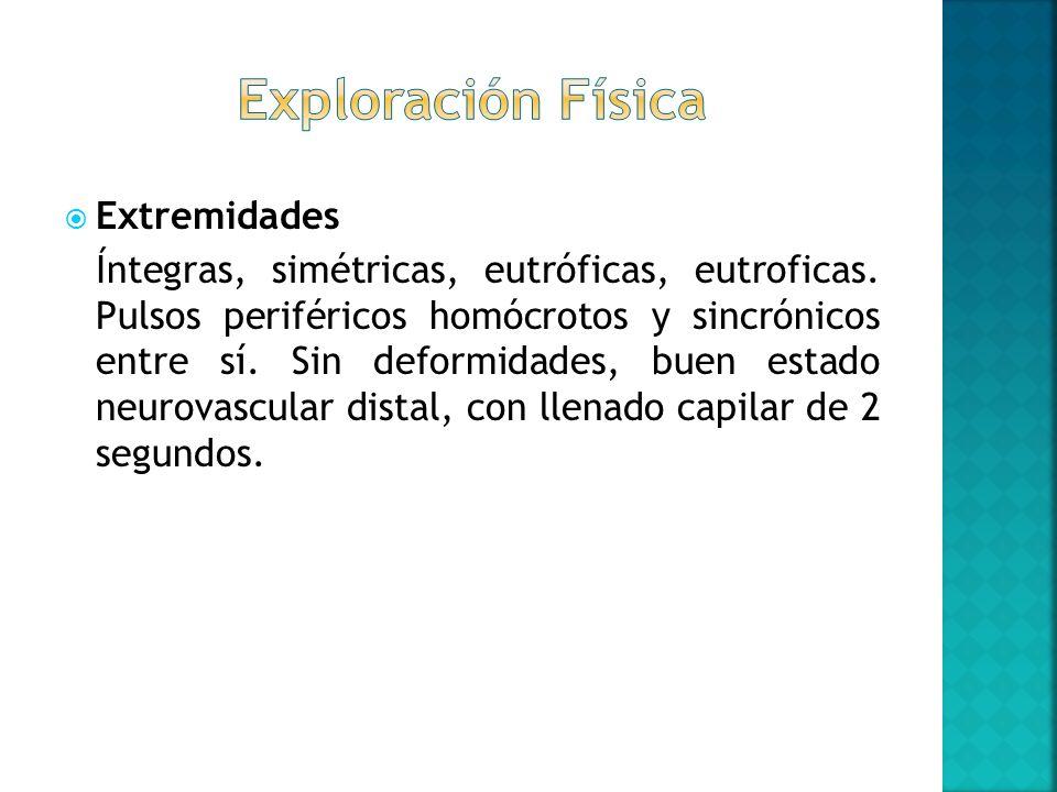 Exploración Física Extremidades
