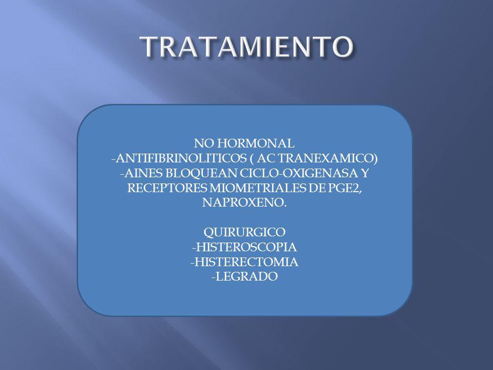 -ANTIFIBRINOLITICOS ( AC TRANEXAMICO)