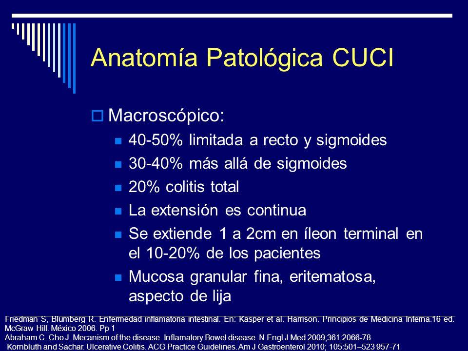 Anatomía Patológica CUCI
