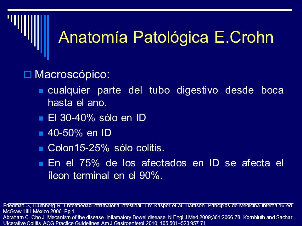 Anatomía Patológica E.Crohn