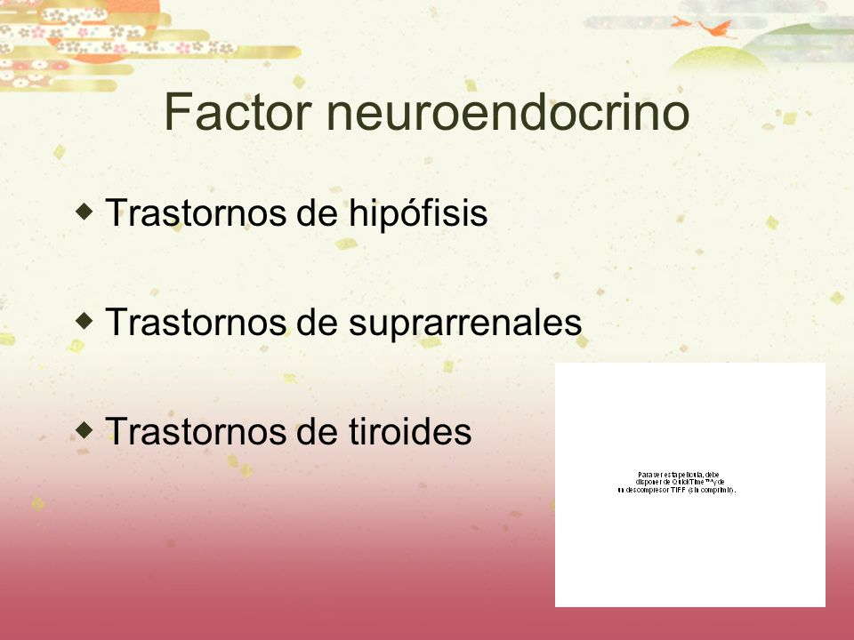 Factor neuroendocrino