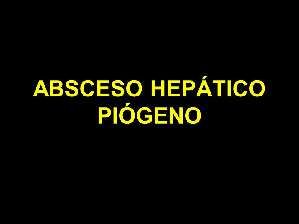 ABSCESO HEPÁTICO PIÓGENO
