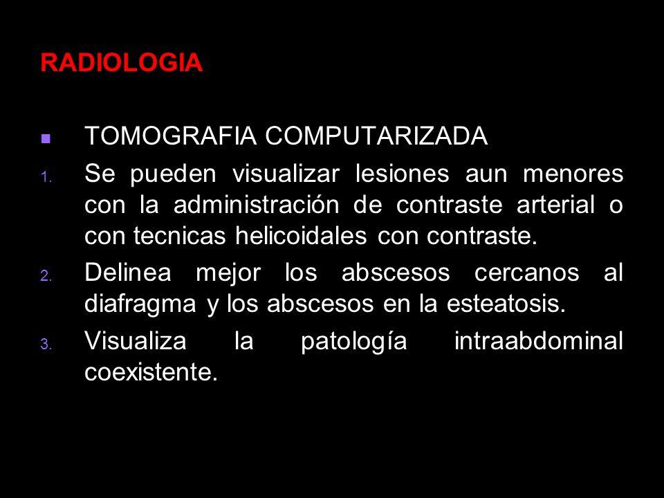 RADIOLOGIA TOMOGRAFIA COMPUTARIZADA.