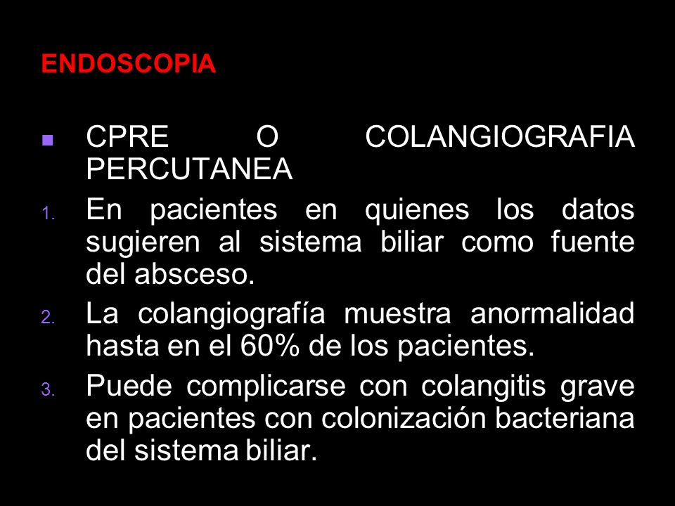 CPRE O COLANGIOGRAFIA PERCUTANEA