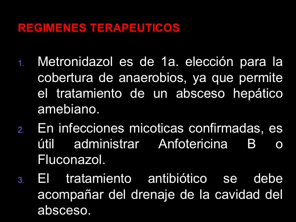 REGIMENES TERAPEUTICOS