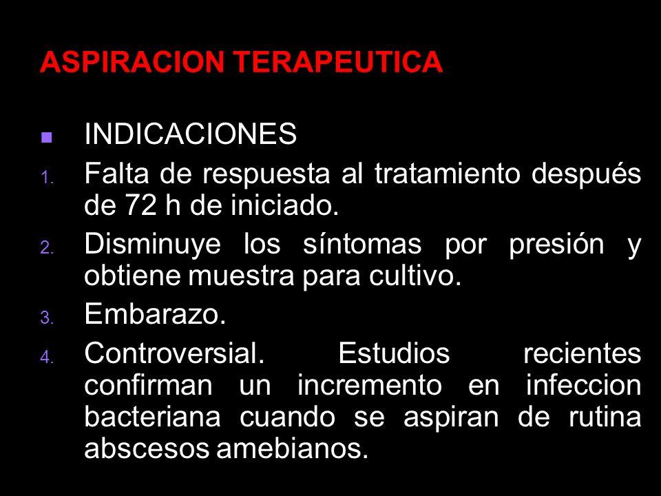 ASPIRACION TERAPEUTICA