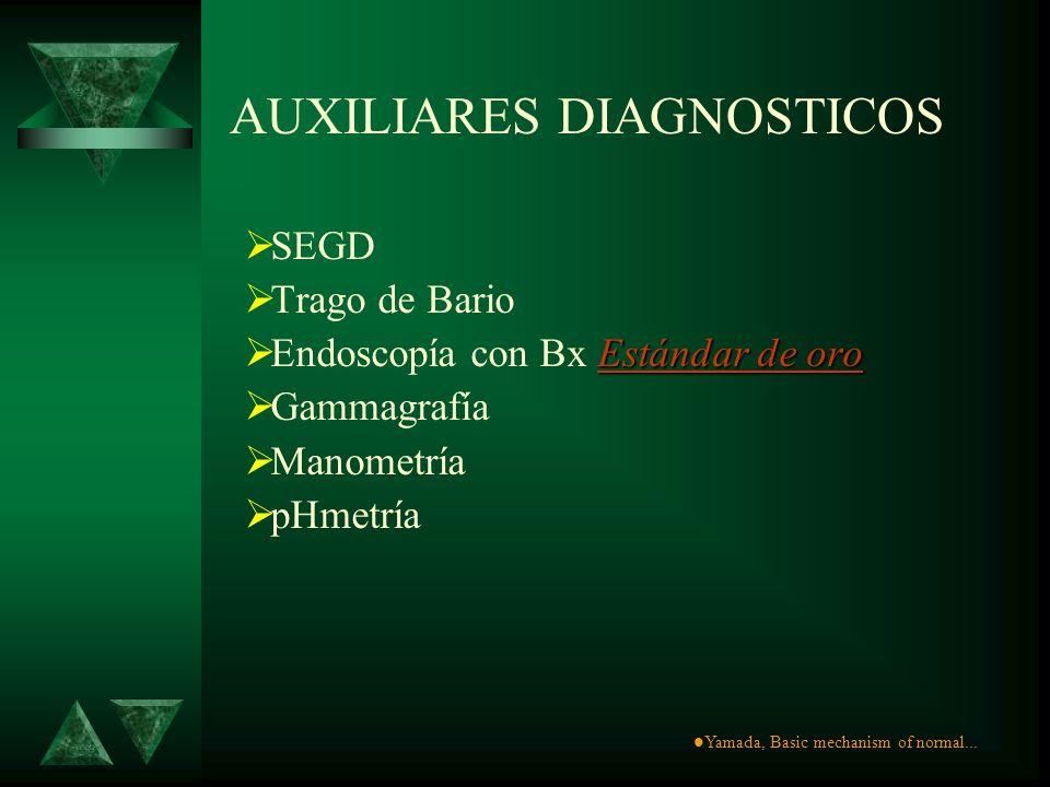 AUXILIARES DIAGNOSTICOS