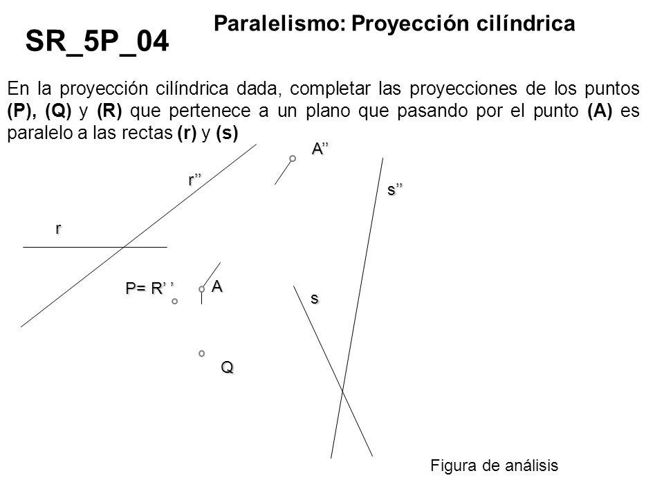 SR_5P_04 Paralelismo: Proyección cilíndrica