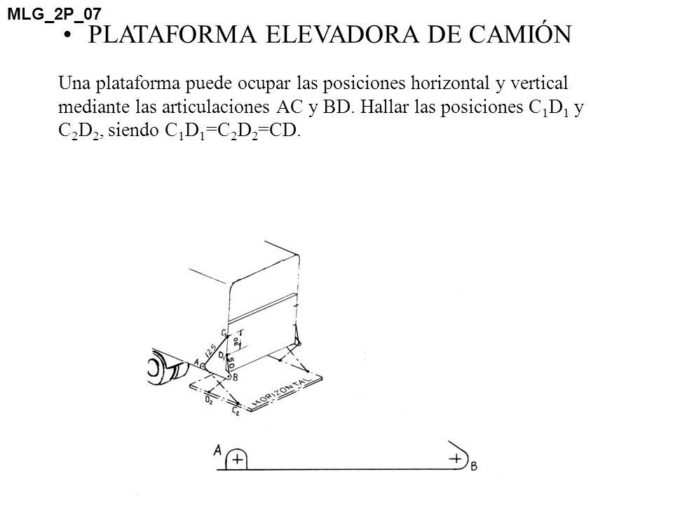 PLATAFORMA ELEVADORA DE CAMIÓN