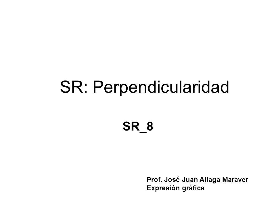SR: Perpendicularidad