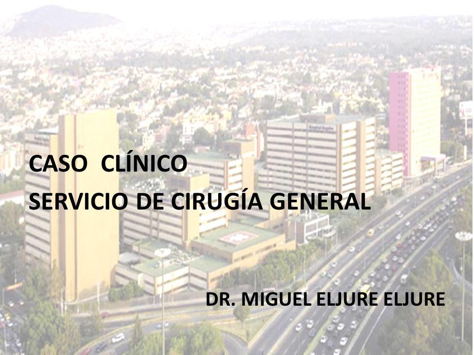 SERVICIO DE CIRUGÍA GENERAL